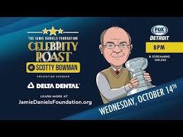 2020 Jamie Daniels Foundation Celebrity Roast of Scotty Bowman :  DetroitRedWings