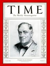 1941 TIME Magazine Person of the Year - Franklin Delano Roosevelt.  Roosevelt was the only person to have bee… | Time magazine, Magazine cover,  Life magazine covers