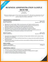 Sample Admin Resume Business Administration Resume Samples Sample Objective Mmventures Co