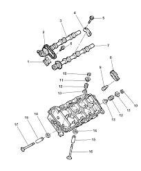 2010 chrysler 300 camshaft valvetrain