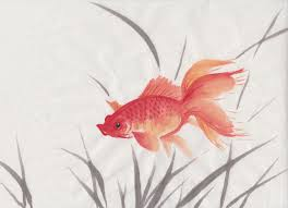 goldfish chinese spontaneous style