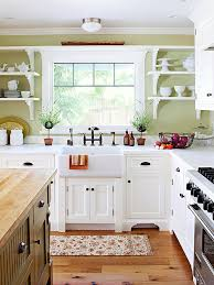 white country cottage kitchen. Better Than Grandma\u0027s White Country Cottage Kitchen A