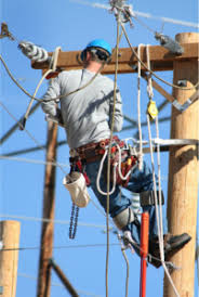 electrical power line installers and repairers utility line workers among the 10 most dangerous jobs in the u s
