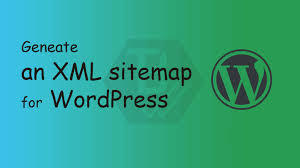 how to generate an xml sitemap for