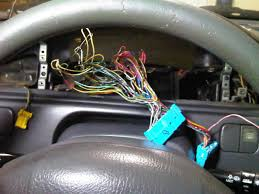 how to s2000 cluster install in 92 95 civic pics honda tech this is the ek harness what a mess wire mess