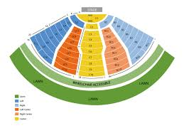 Dte Music Theater Seating Chart Dte Energy Music Theatre Seating Chart And Tickets
