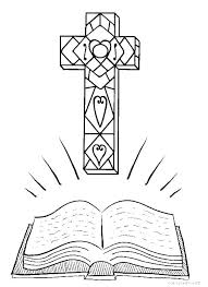 Cross Coloring Pages Easter Cross Cross Coloring Page Stations Of