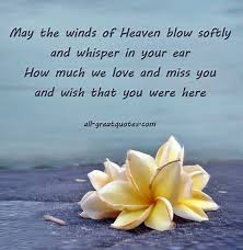 Quotes For Loved Ones In Heaven
