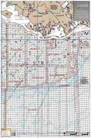 Amazon Com Standard Map Standard Laminated Map Timbalier