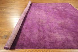 purple overdyed turkish rugs