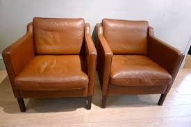 pair of vintage danish leather chairs by stouby