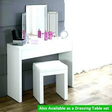 white vanity desk vanity table without mirror white desk vanity white high gloss dressing table stool