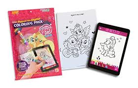 Painting Lulu My Little Pony Coloring Book With 32 Paper To