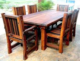 wooden outdoor table plans. Wood Patio Set Plans Furniture Lawn Wooden Outdoor Table