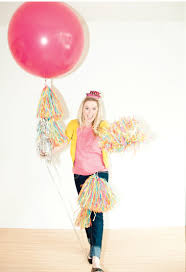 Confetti streamers!   Balloons, Huge balloons, Big balloons