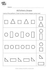 Ab Pattern Worksheets