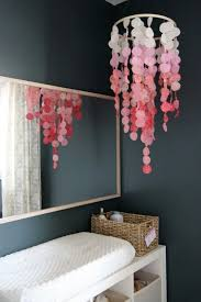 baby pink chandelier mobile best homemade mobile ideas on homemade baby part 17