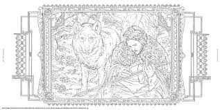 Hbos Game Of Thrones Coloring Book Chronicle Books