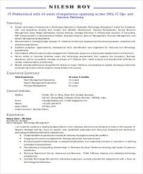 40 IT Resume Templates In Word Free Premium Templates Simple ResumeDoc