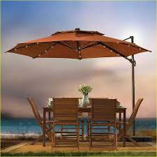 patio umbrella with solar lights bed bath and beyond