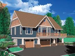 carriage house plan with 4 car garage