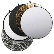 square perfect professional quality 43 inch 5 in 1 light multi collapsible photo disc reflector walmart