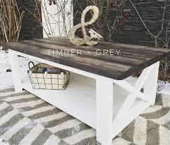 diy coffee table farmhouse furniture