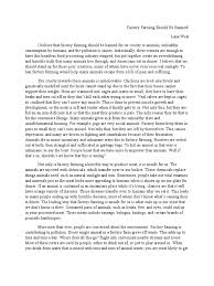 factory farming essay factory farming hours factory farming by  factory farming by alayna o rourke
