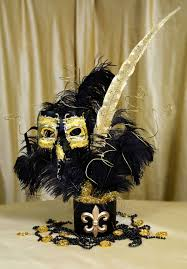 Masquerade Mask Decorating Ideas Party Ideas by Mardi Gras Outlet Black Gold Masquerade Mask 80