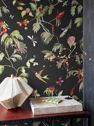 Bolcom Tropische Bloemen En Vogel Behang