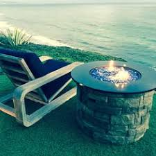 exotic fire glass. Simple Glass Beautiful Beach View With The Cobalt Reflective Fire Glass Accent With Exotic