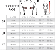 Goalie Pad Sizing Chart By Height How To Size Goalie Pads For Kids
