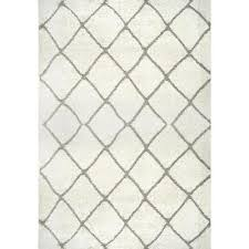 deloise trellis cream 5 ft x 8 ft area rug
