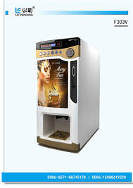 Nescafe Tea Coffee Vending Machine New China Tea Coffee Vending Machine LE48V With Plastic Door White