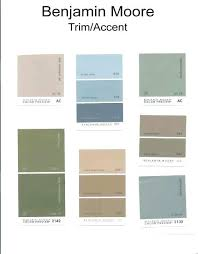 Green Paint Color Chart Benjamin Moore Exterior Paint Color Chart Lexoje Info