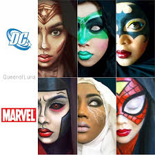 iron man make up by migrainesky artist uses hijab and makeup to transform into disney marvel