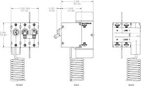 a series elci main circuit breaker double pole 120v ac 30a blue Basic Electrical Wiring Breaker Box Double Pole Breaker Wiring Diagram #28