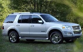 2006 ford explorer tires size used 2006 ford explorer pricing for sale edmunds