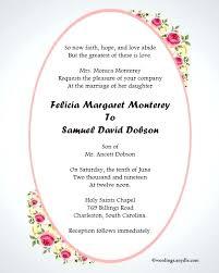 Funny And Inspiring Informal Wedding Invitation Wordings