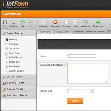 5 Free Online HTML Form Builders - Hongkiat