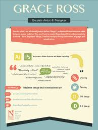 My Infographic Resume Visual Ly For Design Perfect Resume