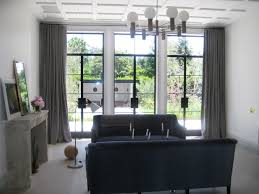 window treatments modern living room