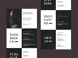 40 Inspiring Resume Designs And What You Can Learn From Them Learn New Resume Logo