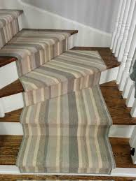 Striped Contemporary Stair Runners