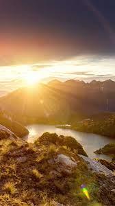mq49-sunshine-mountain-sky-blue-spring ...