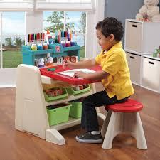 flip doodle easel desk with stool kids art easel step2 flip doodle easel desk with stool teal lime step2
