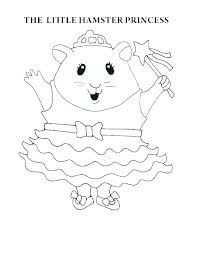 Gerbil Coloring Pages Gerbils Free Colouring Pages Cute Gerbil