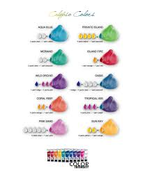 Joico Vero K Pak Color Intensity Calypso Colors Shade Chart