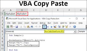 Vba Copy Paste Guide To Copy And Paste In Excel Vba