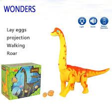 brachiosaurus size new electric toy large size walking dinosaur robot with light sound